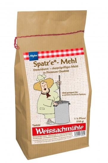 Spatz`e - Mehl Dinkeldunst